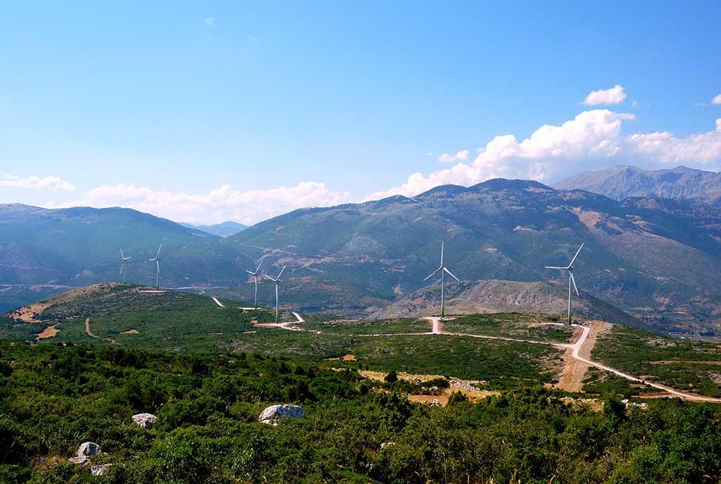ανάπτυξη με πράσινη ενέργεια